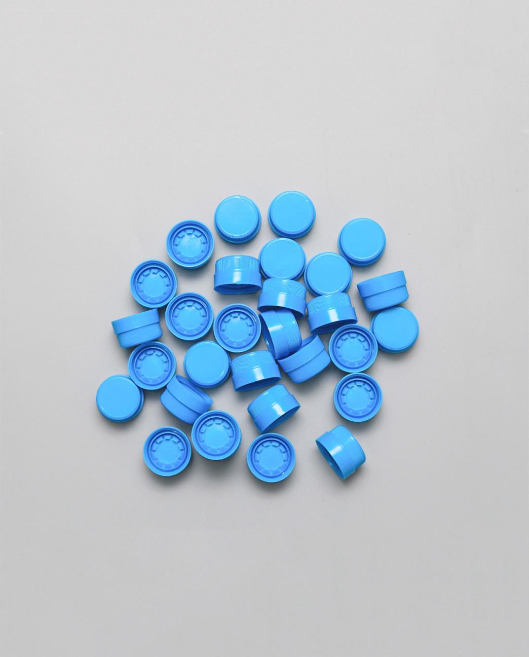 Bộ nắp Ø27 xanh dương